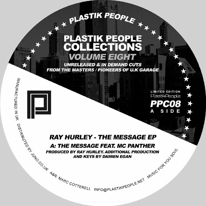 HURLEY, Ray - The Message EP