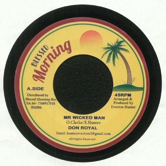 DON ROYAL/BLESSED MORNING ALL STARS - Mr Wicked Man