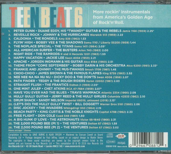 VARIOUS - Teen Beat Volume 6