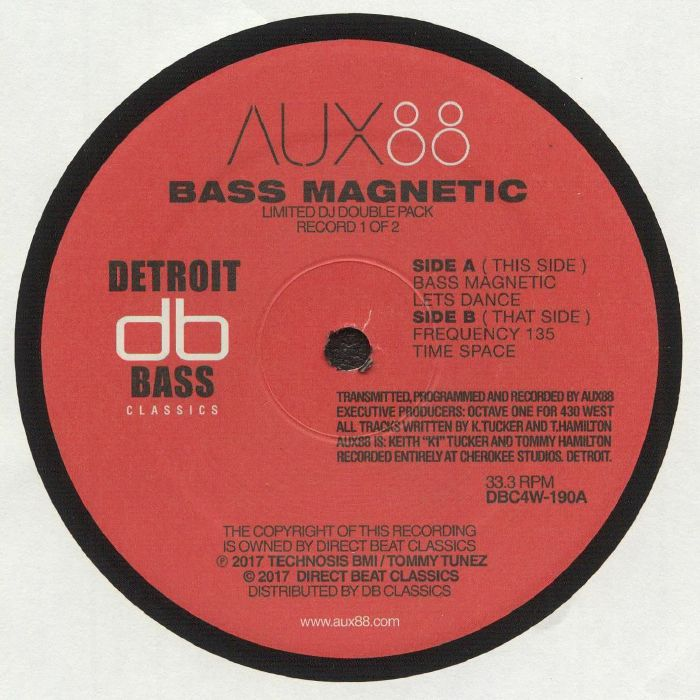 AUX 88 - Bass Magnetic (reissue)