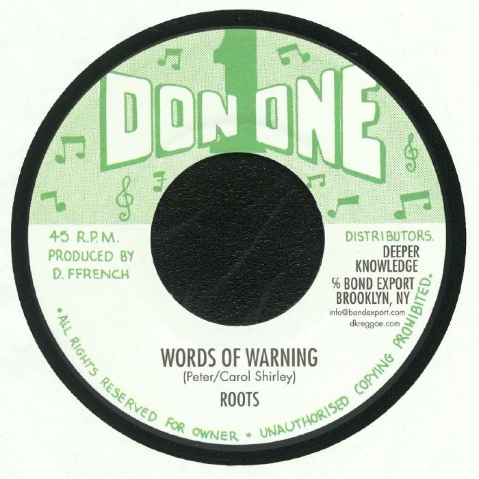 ROOTS/KINDRED BAND - Words Of Warning