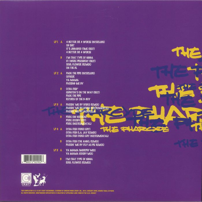 PHARCYDE, The - Bizarre Ride II The Pharcyde: 25th Anniversary Deluxe Edition