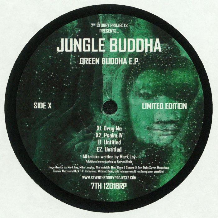 JUNGLE BUDDHA - Green Buddha EP