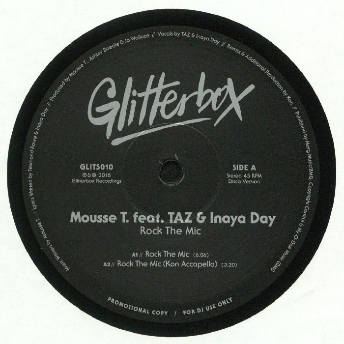MOUSSE T feat TAZ/INAYA DAY - Rock The Mic