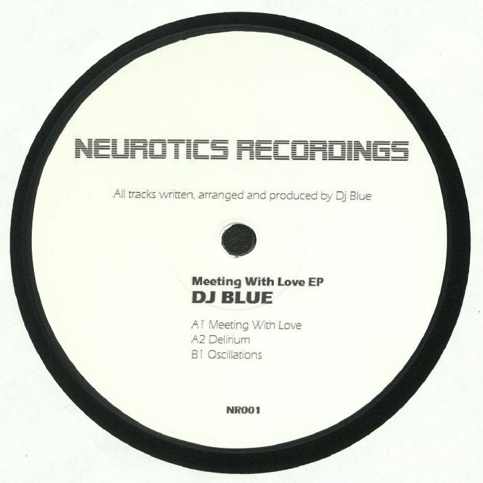 DJ BLUE - Meeting With Love EP