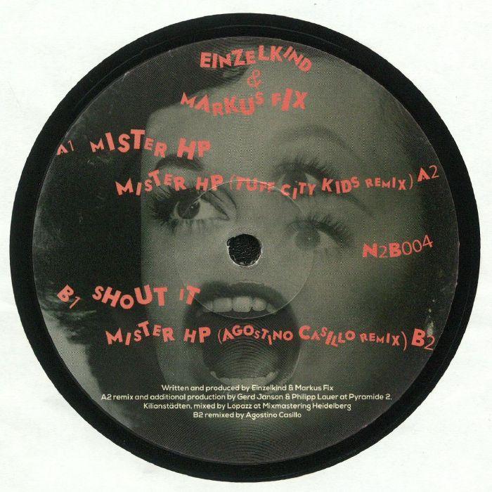EINZELKIND/MARKUS FIX - Shout EP