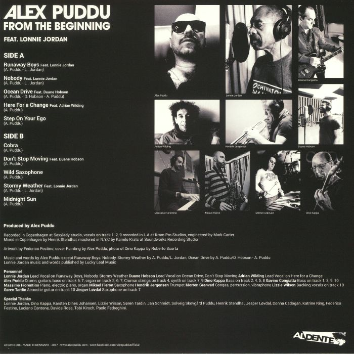 PUDDU, Alex - From The Beginning
