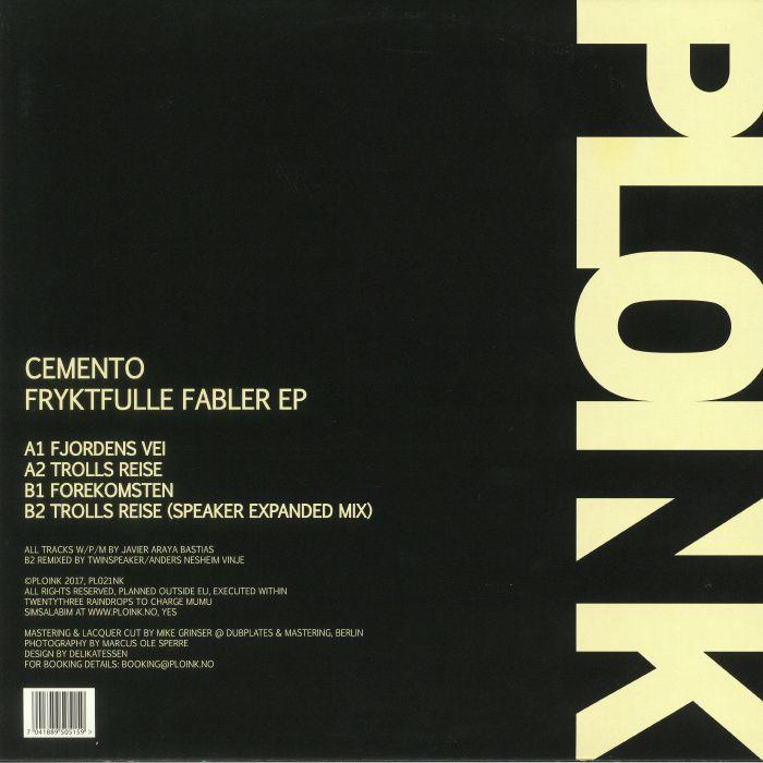 CEMENTO - Fryktfulle Fabler EP