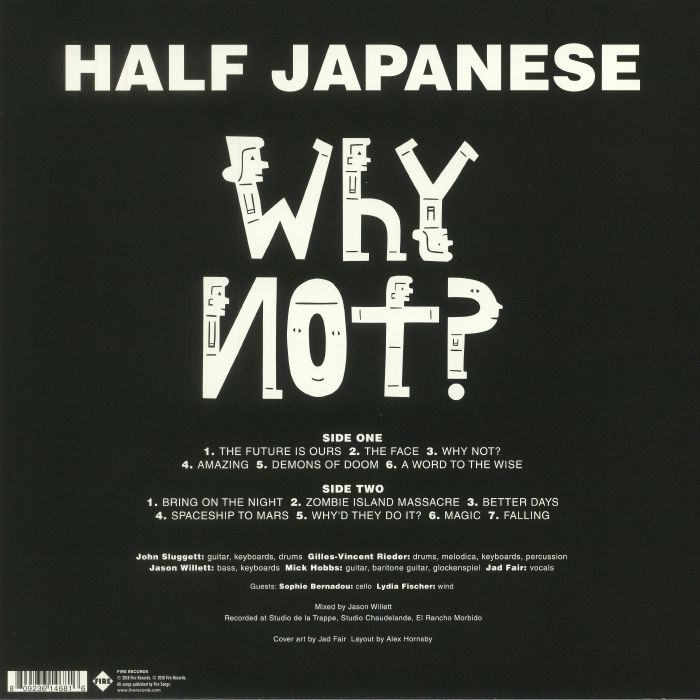 HALF JAPANESE - Why Not?