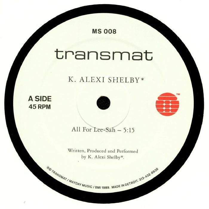 SHELBY, K Alexi - All For Lee Sah (repress)
