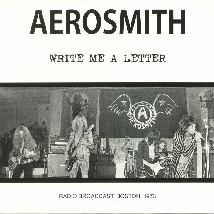 AEROSMITH - Write Me A Letter: Radio Broadcast Boston 1973