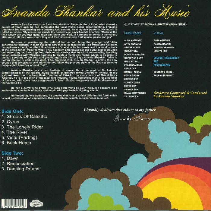 SHANKAR, Ananda - Ananda Shankar & His Music