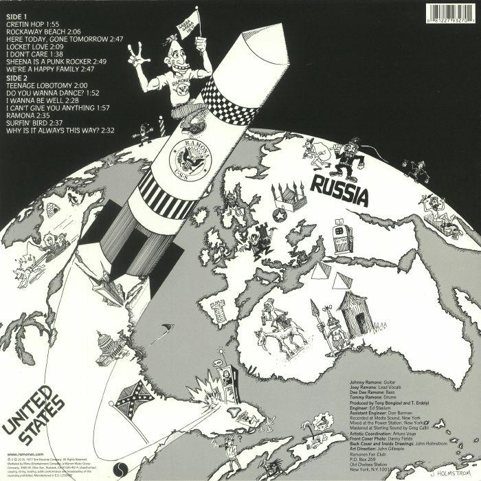 RAMONES - Rocket To Russia (remastered)