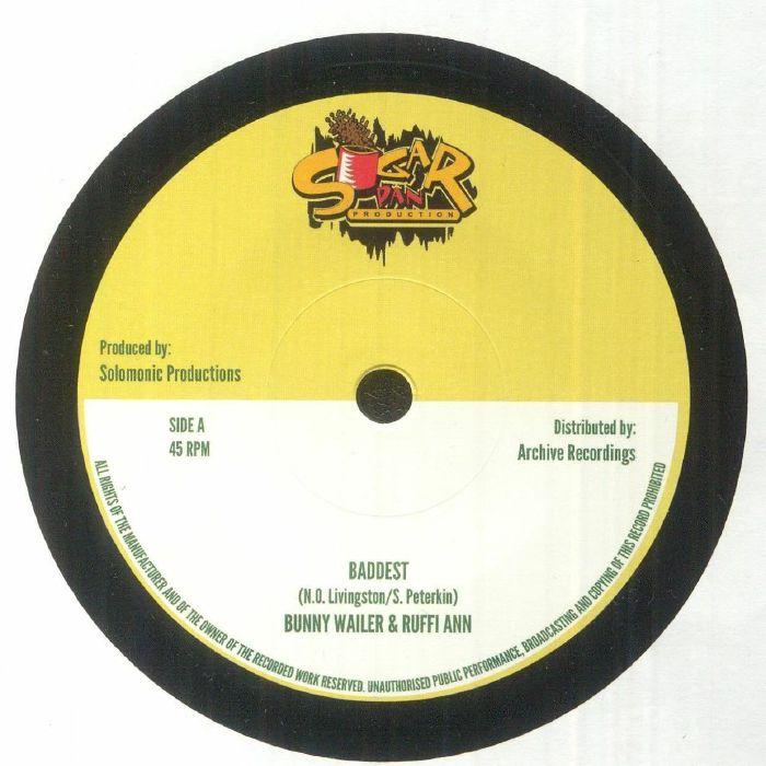 WAILER, Bunny/RUFFI ANN - Baddest