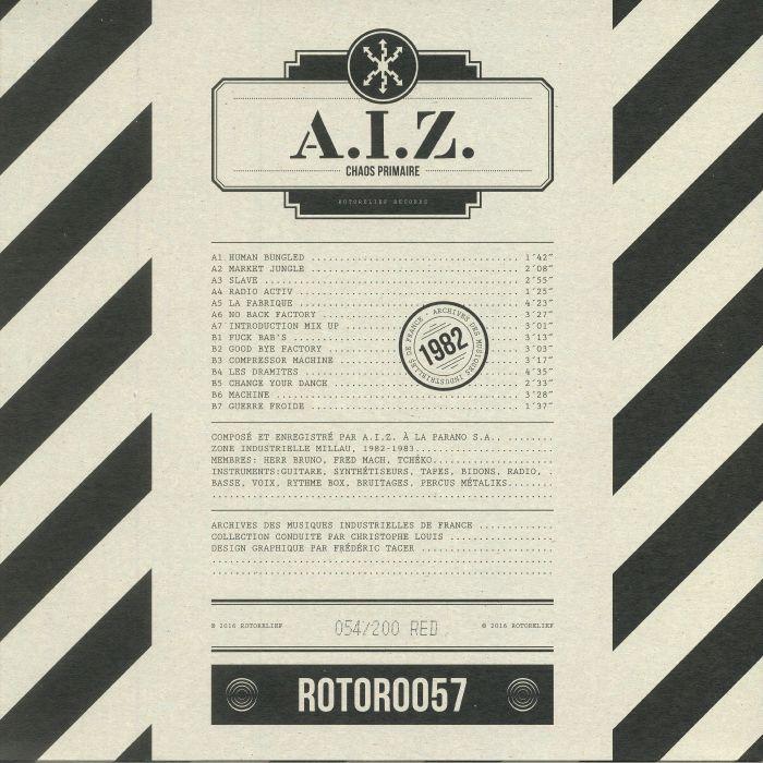 AIZ - Chaos Primaire