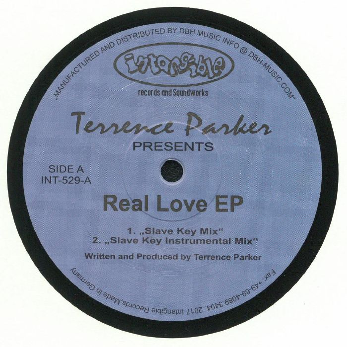 PARKER, Terrence - Real Love EP