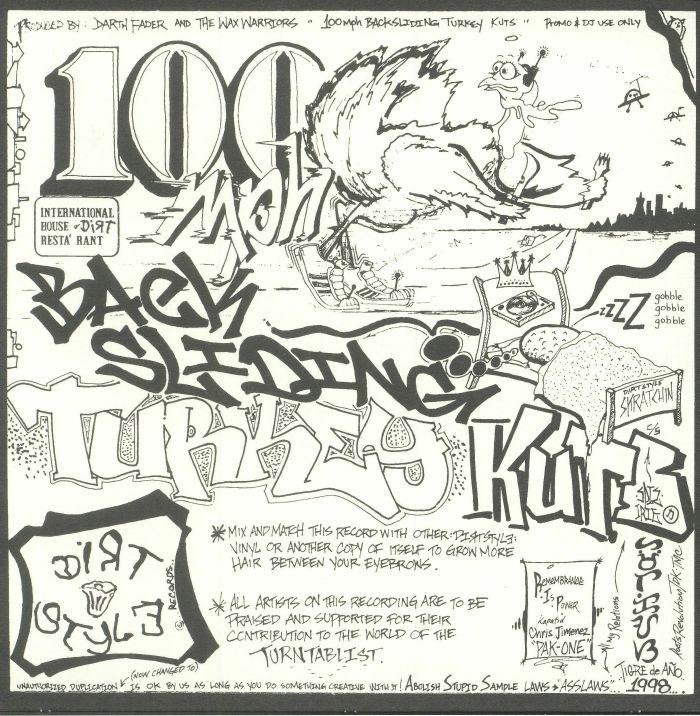 DARTH FADER/THE WAX WARRIORS aka DJ Q BERT - 100Mph Backsliding Turkey Kutz (25th Anniversay Edition)