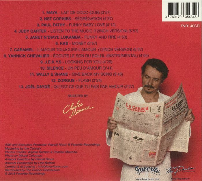 MAURICE, Charles/VARIOUS - French Disco Boogie Sounds Vol 3: 1977-1987