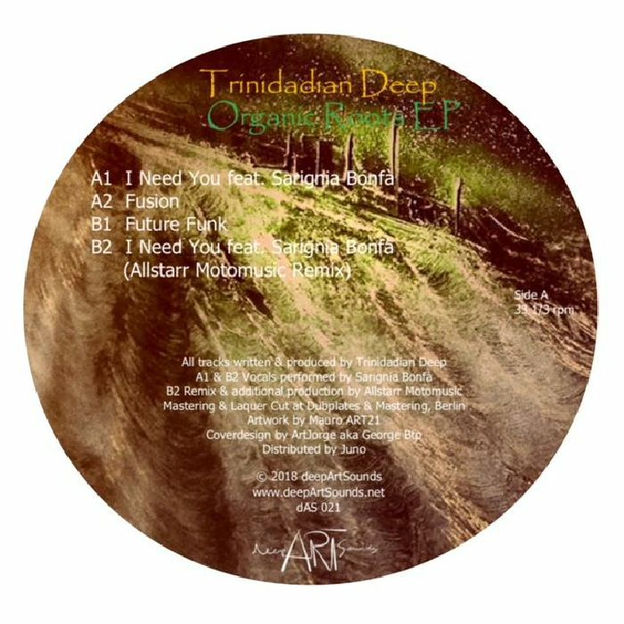 TRINIDADIAN DEEP - Organic Roots EP