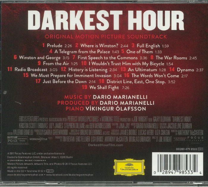 MARIANELLI, Dario - Darkest Hour (Soundtrack)