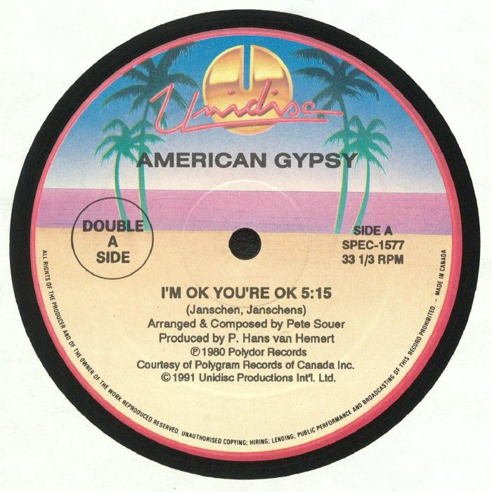AMERICAN GYPSY/PATTI BROOKS - I'm Ok You're Ok