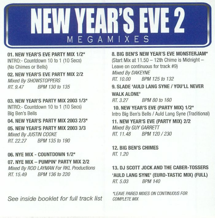 VARIOUS - DJ Essentials: New Years Eve Part 2 (Strictly DJ Only)