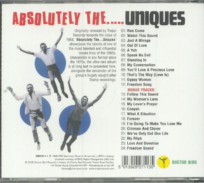 UNIQUES, The - Absolutely The Uniques