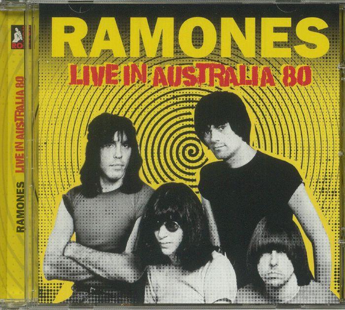 RAMONES - Live In Australia 80