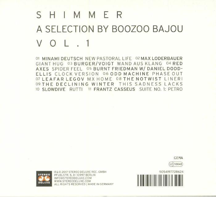 BOOZOO BAJOU/VARIOUS - Shimmer: A Selection By Boozoo Bajou Vol 1