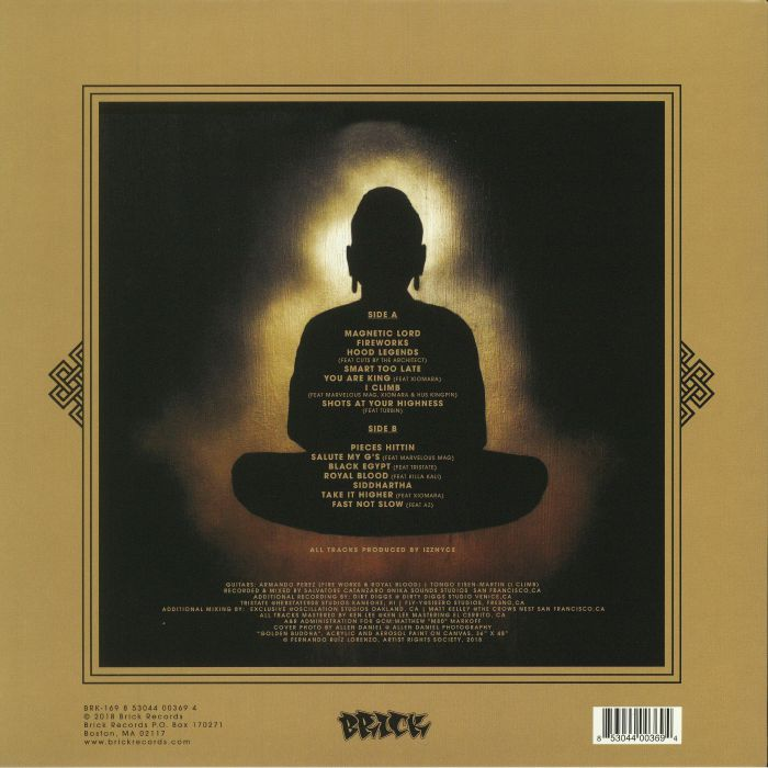 PLANET ASIA - The Golden Buddha