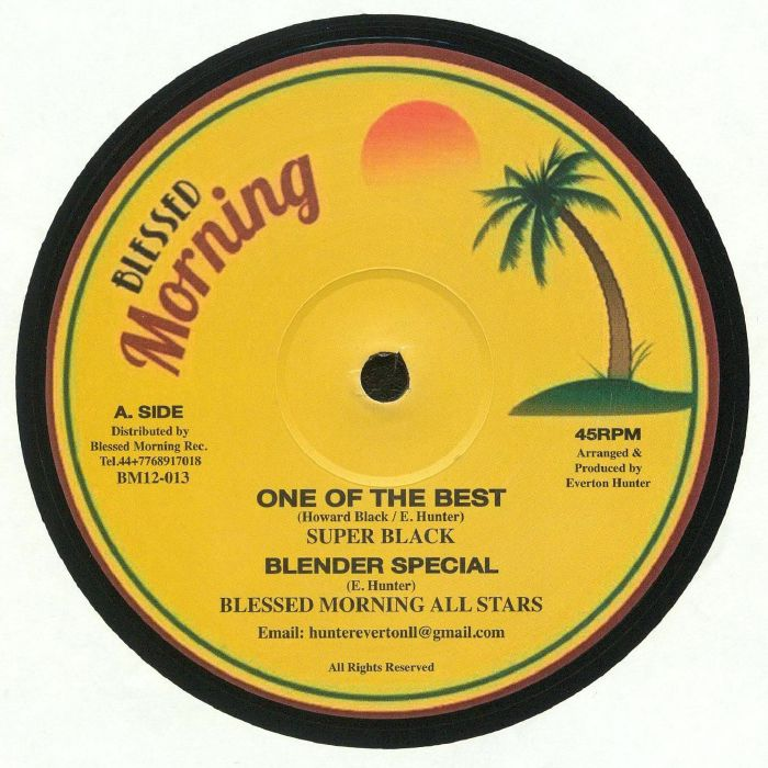 SUPER BLACK/BLESSED MORNING ALL STARS/AJDON HEIGHTS - One Of The Best