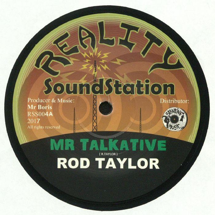 TAYLOR, Rod/MR BORIS - Mr Talkative