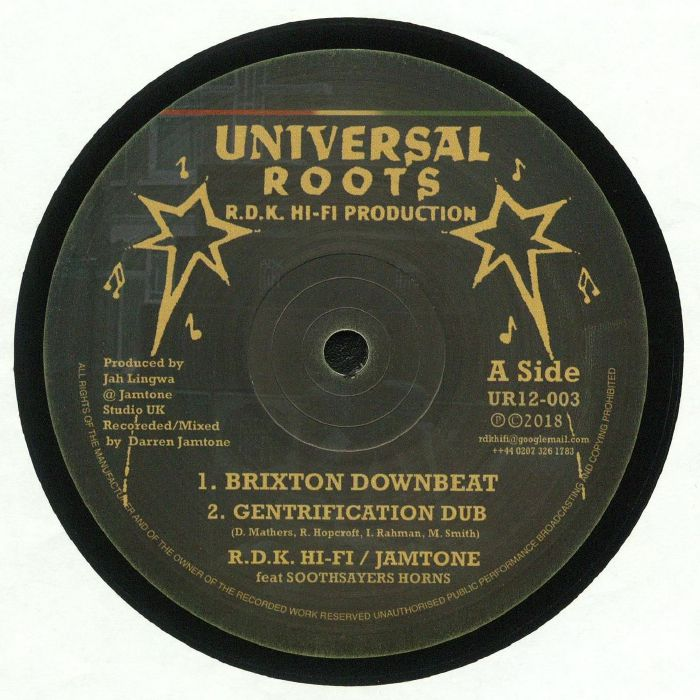 RDK HI FI/JAMTONE - Brixton Downbeat