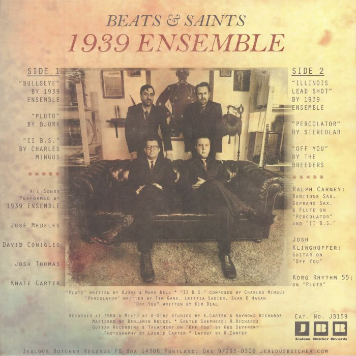 1939 ENSEMBLE - Beats & Saints