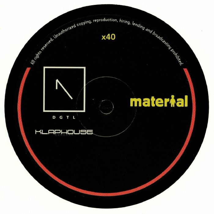 A LISTER/GIANFRANCO DAPRILE/YVAN GENKINS - Material Heads Vol 40