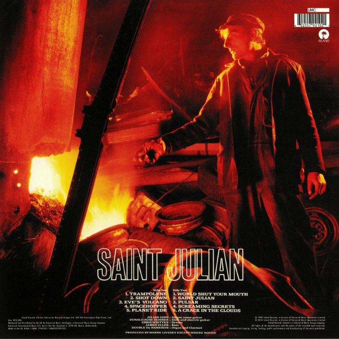 COPE, Julian - Saint Julian (reissue)