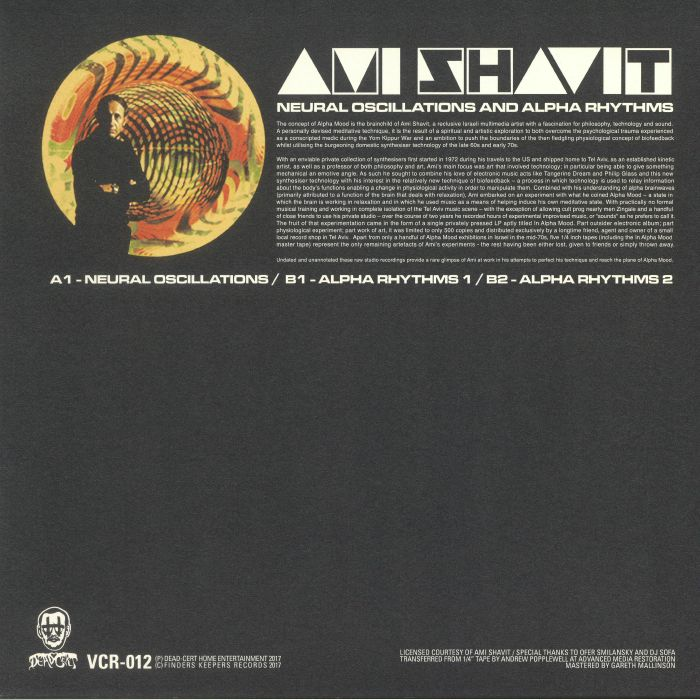 SHAVIT, Ami - Neural Oscillations & Alpha Rhythms