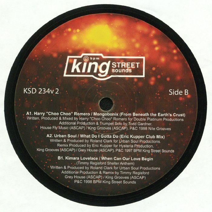 ROMERO, Harry Choo Choo/URBAN SOUL/KIMARA LOVELACE - Mix The Vibe: Danny Krivit Sampler EP 2