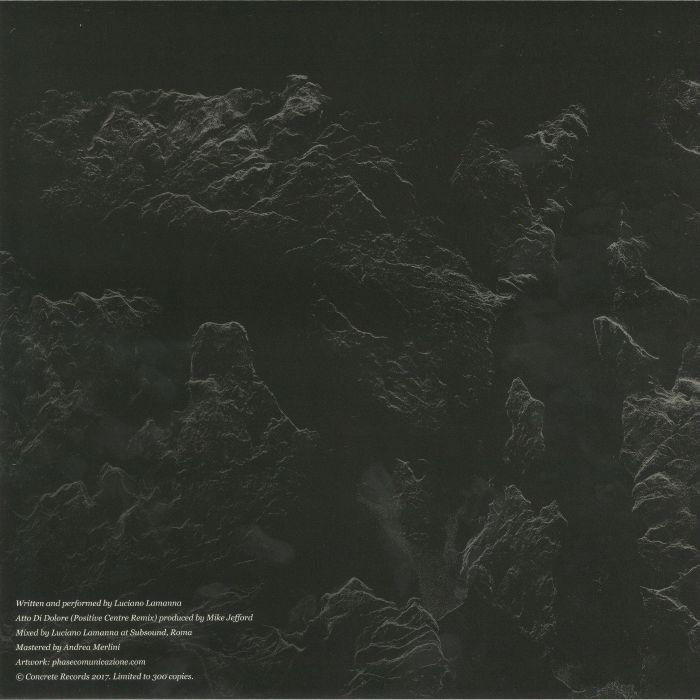 LAMANNA, Luciano - Atto Di Dolore EP