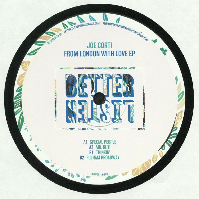 CORTI, Joe - From London With Love EP