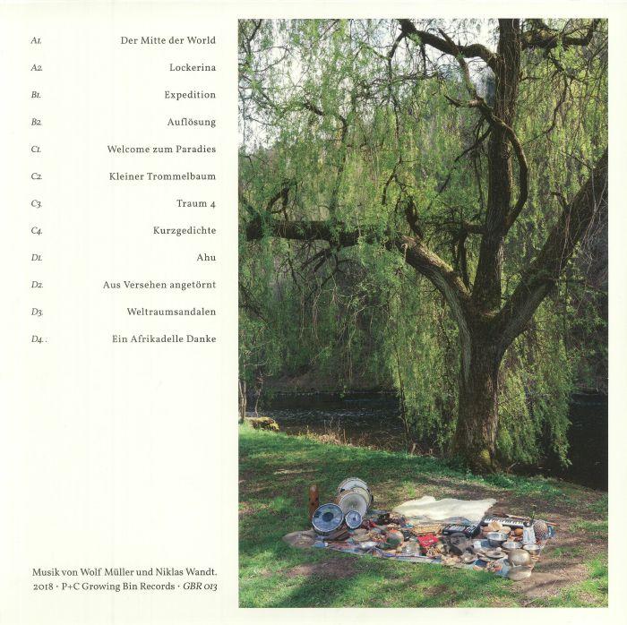 MULLER, Wolf/NIKLAS WANDT - Instrumentalmusik Von Der Mitte Der World