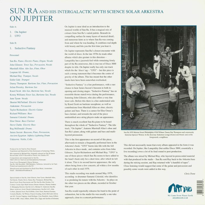 SUN RA & HIS SOLAR ARKESTRA - On Jupiter