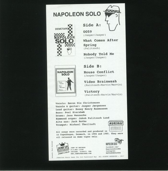 NAPOLEON SOLO - Early Recordings: First Demos 84-85