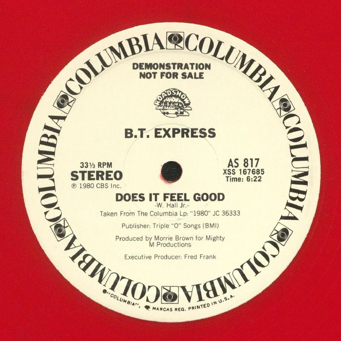 BT EXPRESS - Does It Feel Good (reissue)