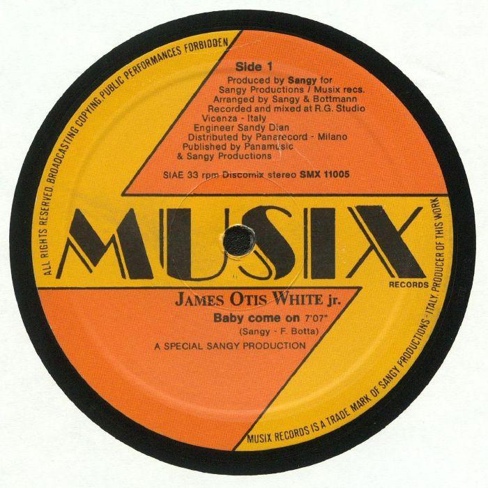 JAMES OTIS WHITE JR - Baby Come On (reissue)