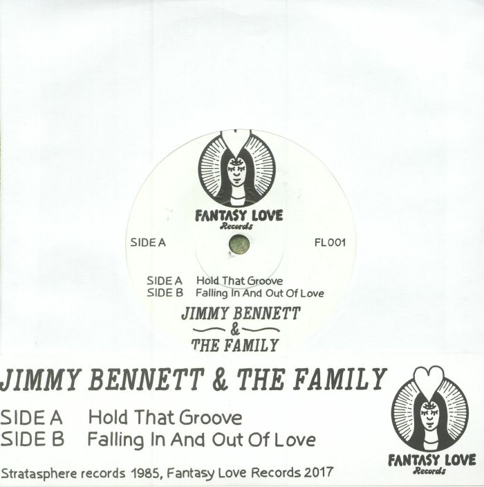 BENNETT, Jimmy & THE FAMILY - Hold That Groove