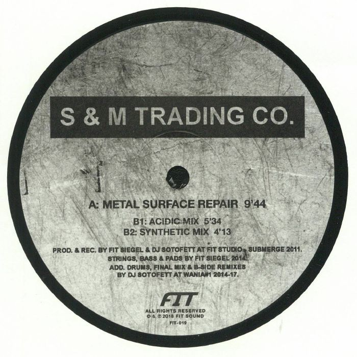 S & M TRADING CO - Metal Surface Repair 9'44