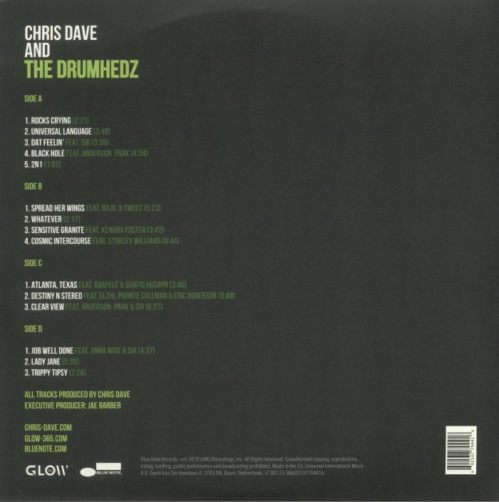 DAVE, Chris & THE DRUMHEDZ - Chris Dave & The Drumhedz