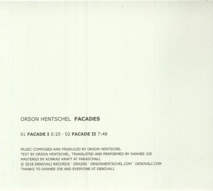 HENTSCHEL, Orson - Facades