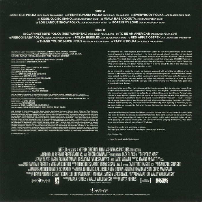 BLACK, Jack - The Polka King (Soundtrack)